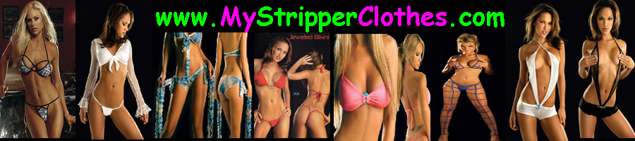 Header for Stripper Clothes, Clubwear, Costumes and Sexy Lingerie.